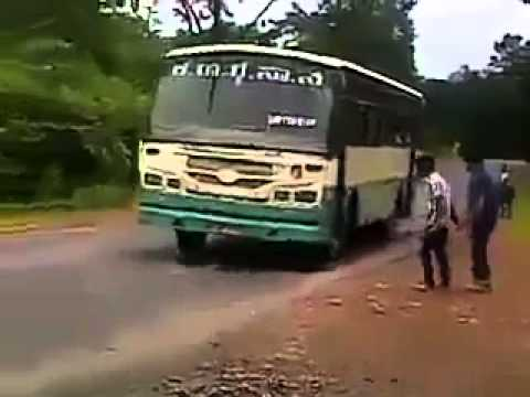 Crazy Indian boys stopping a bus – LOL Video