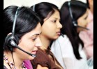 Prank call with call center girl
