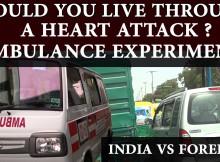 Ambulance experiment India