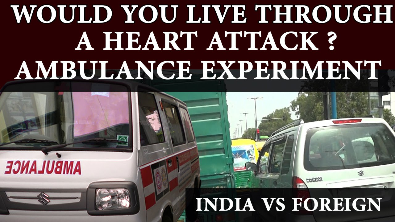 Ambulance experiment India
