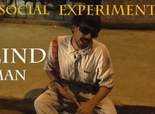 blind man India - social experiment