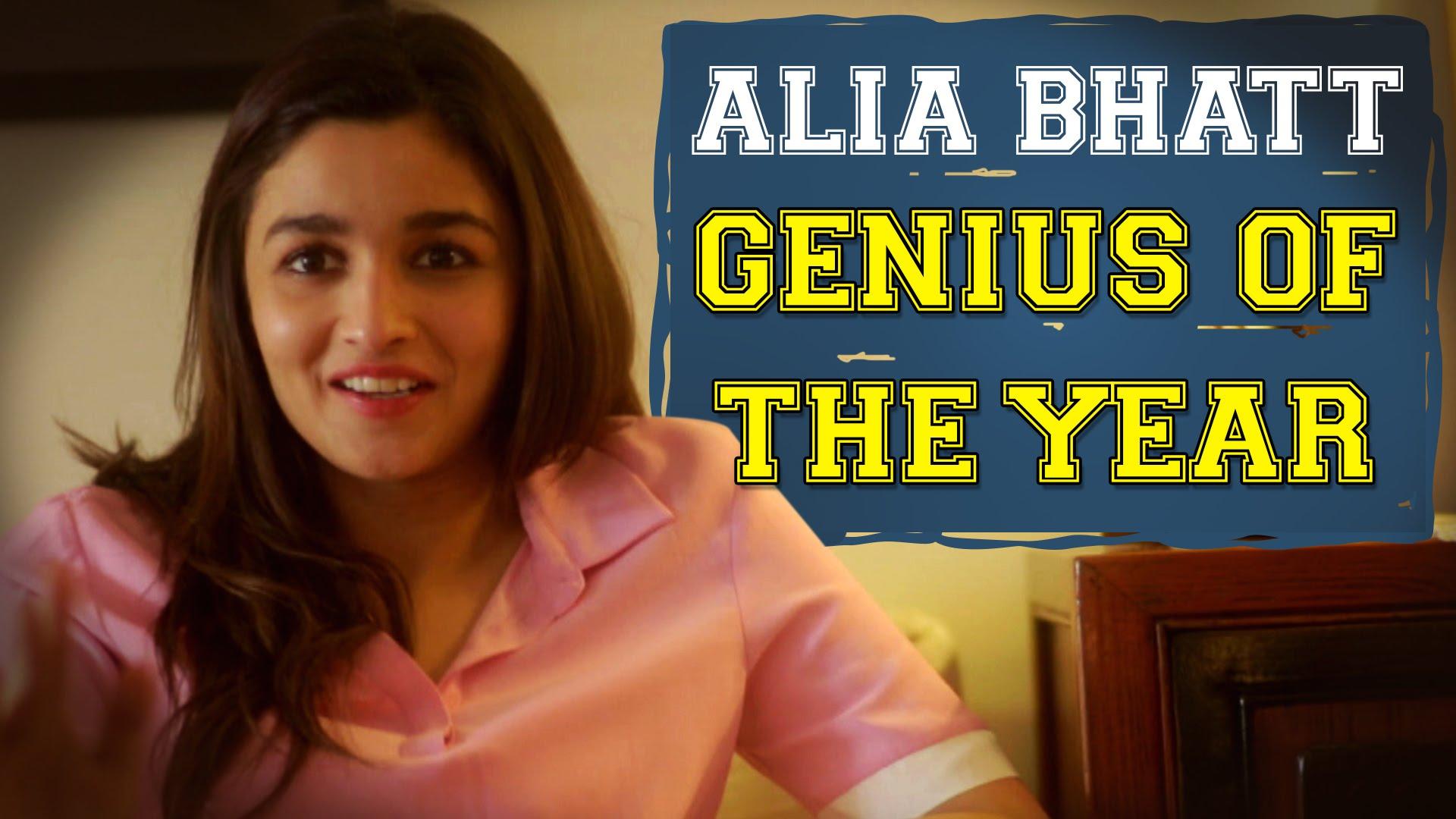 Alia Bhatt Jokes - Alia turns genious